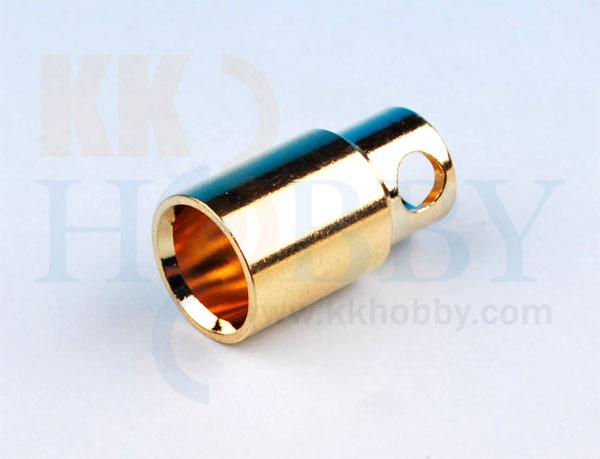8mmゴールドコネクター(メス)
