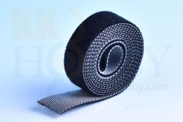 スリム両面ベルクロテープ(100x1.5cm)