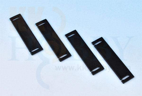 プラスチックホールドプレート(40x10mm)