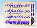 Apollo 50用ステッカー