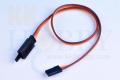 【フック付】FUSE 大電流用ストレートコード 15cm (ツメなし)