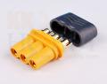 プロテクトキャップ付きMR30コネクター(メス)