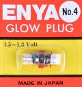 ENYA グロープラグ No.4(Medium HOT)