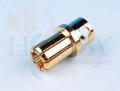 8mmゴールドコネクター(オス)