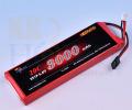 受信機用LiFeバッテリー KKHOBBY 6.6V 3000mA