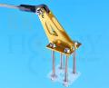ボールリンク付大型機用メタルホーン(ゴールド)