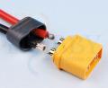 プロテクトキャップ付きXT60コネクター(オス)