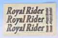 Royal Rider EP/GP用ステッカー