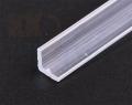 タミヤ 透明プラ材5mmL形棒(5本入)