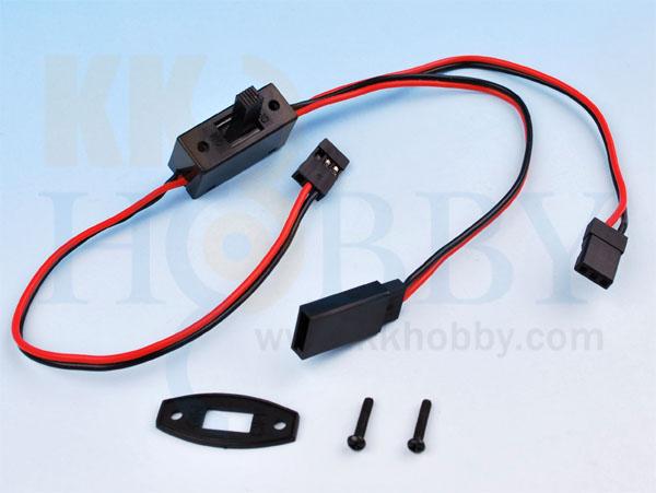 充電口付きスイッチ(フタバ、JR両対応タイプ)