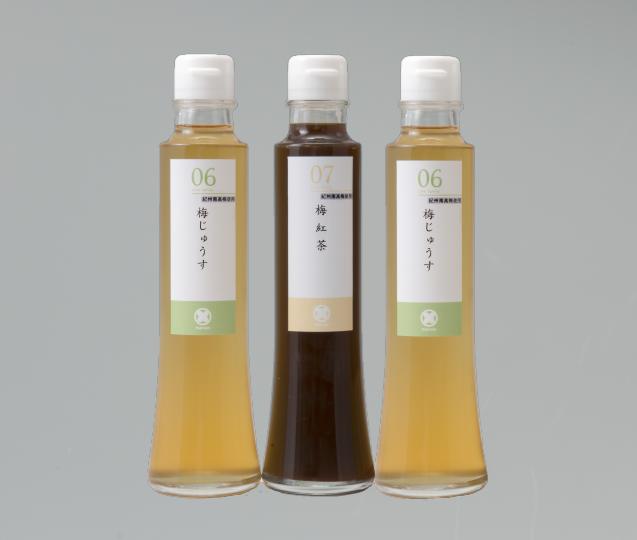 ドリンクセット(梅じゅうす 2本・梅紅茶 1本)