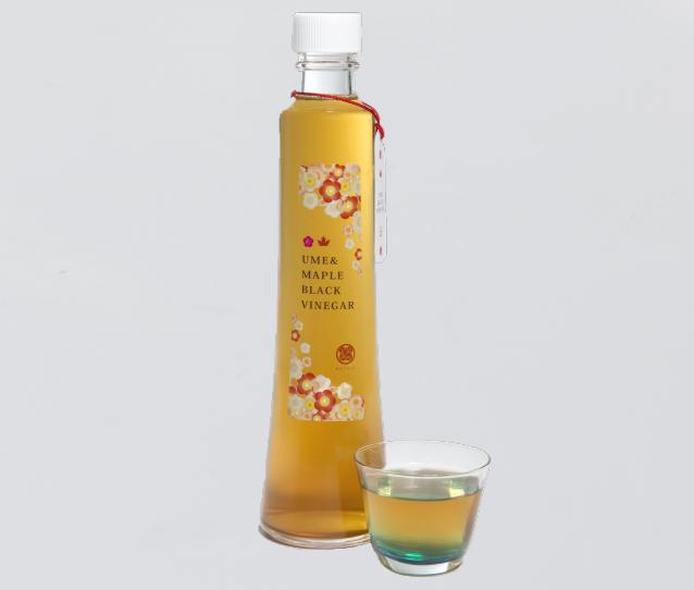 メープルシロップ梅黒酢 (PLUM&MAPLE) 300ml