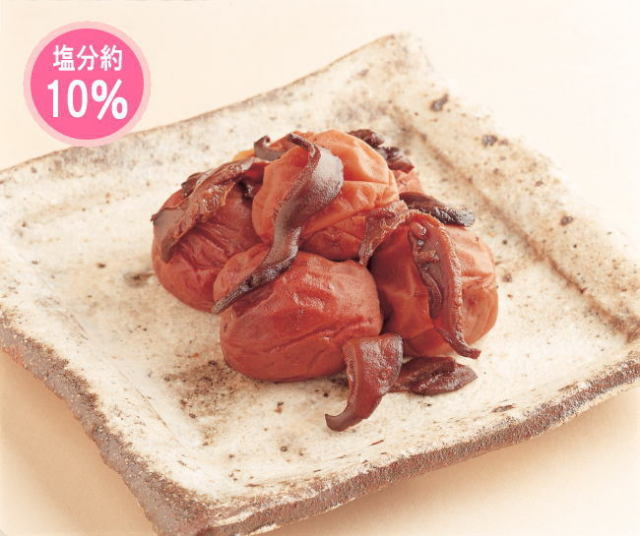 紀州南高梅 梅椎茸(うめしいたけ) 200g(容器)
