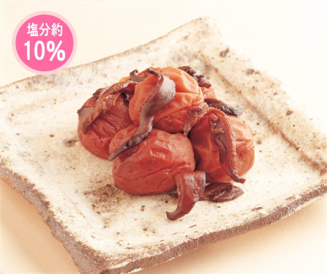紀州南高梅 梅椎茸(うめしいたけ) 280g(容器)