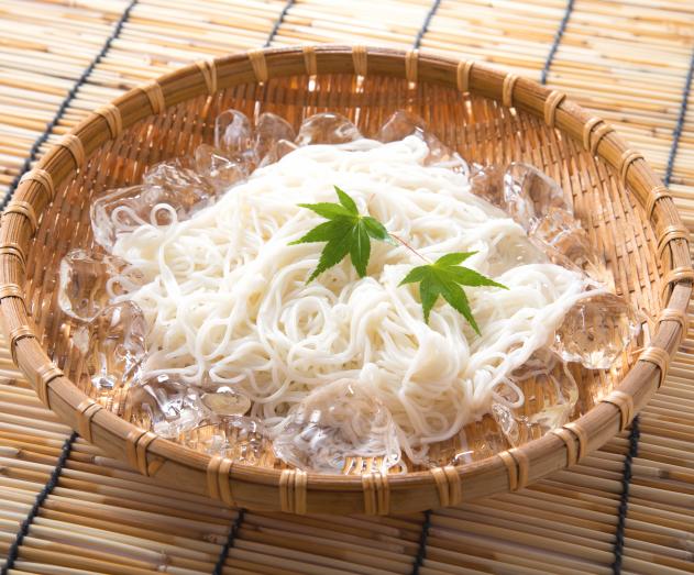 【夏季限定】島原手延べ素麺 400g(8束) 化粧箱入
