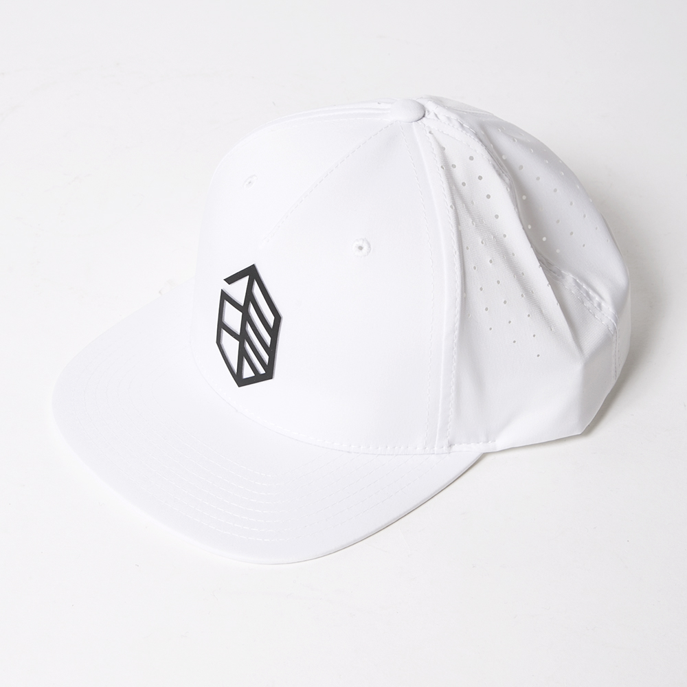 JONES CAP Utility Punching White
