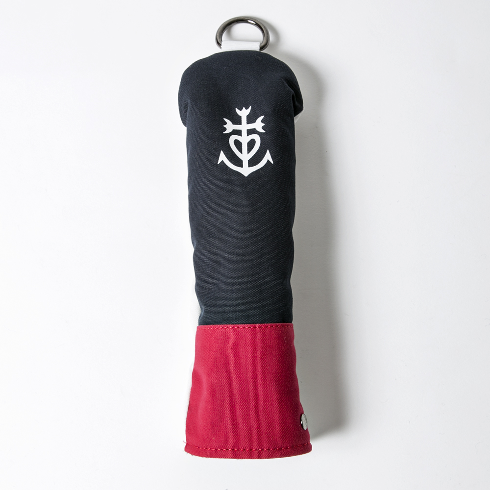 Knee Deep Hybrid Cover Marseille Cotton Canvas Navy x Red x White