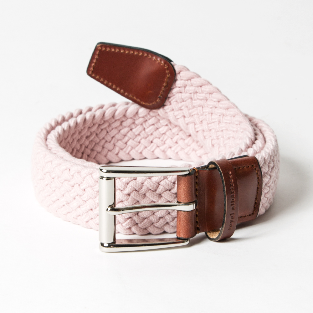 ROYAL ALBARTROSS MEN'S Belt THE BALZO Miami Pink