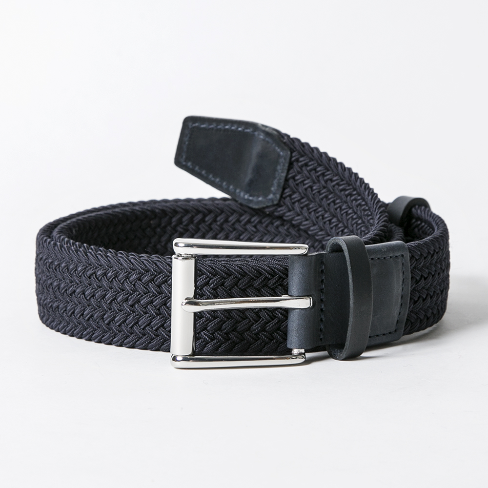 ROYAL ALBARTROSS MEN'S Belt THE BALZO Navy