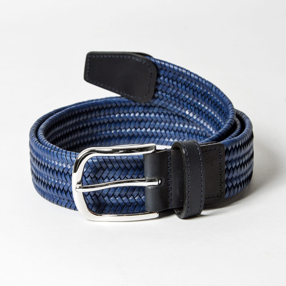 ROYAL ALBARTROSS MEN'S Belt THE BEAUMONT Blue