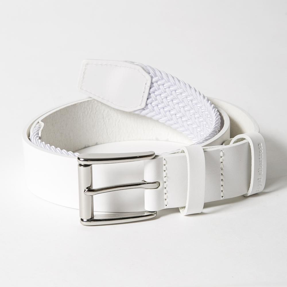 ROYAL ALBARTROSS MEN'S Belt THE BRAVADO White
