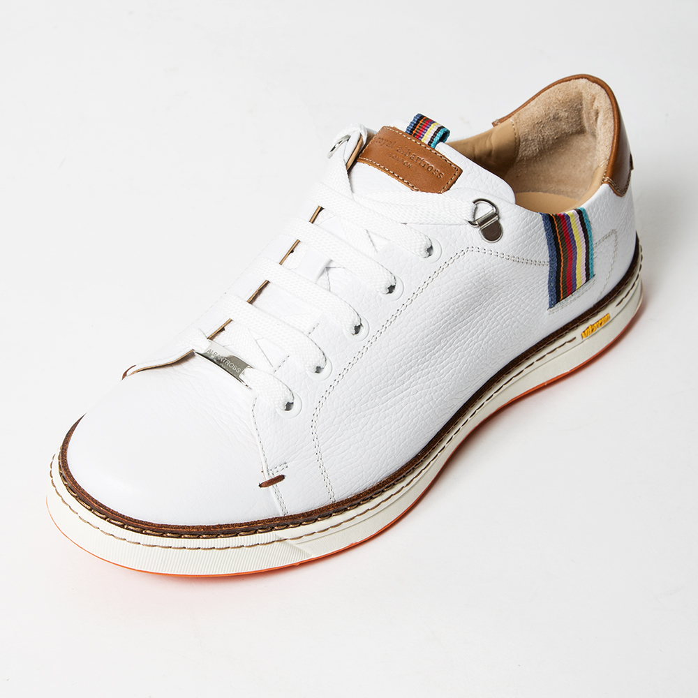 ROYAL ALBARTROSS MEN'S Golf Shoes THE SAXON White
