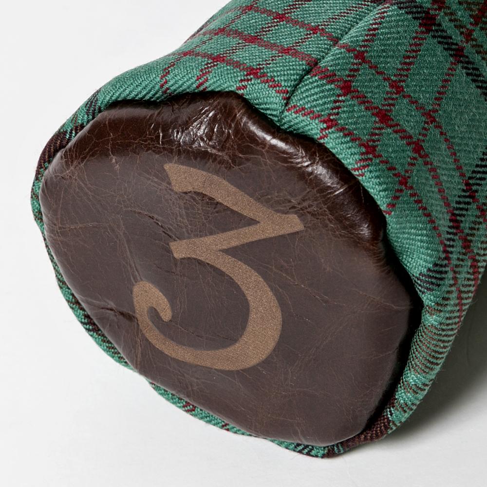 SEAMUS Fairway Wood Cover 3 County Dublin Chocolate Leather