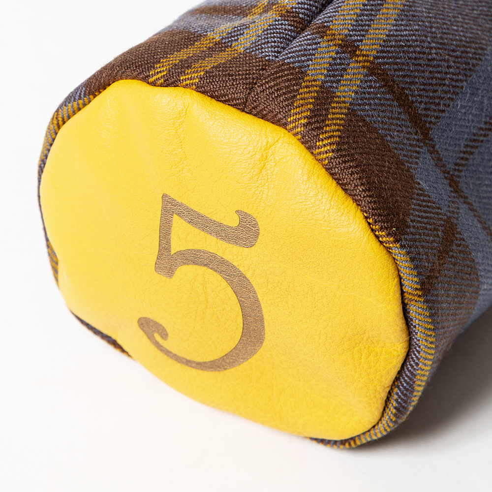 SEAMUS Fairway Wood Cover 5 County Sligo Yellow Leather