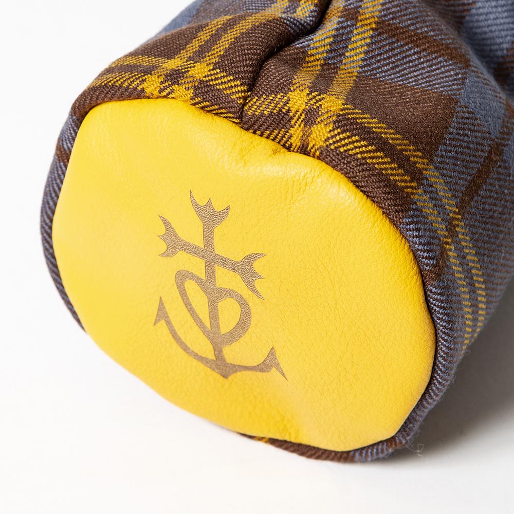 SEAMUS Fairway Wood Cover Marseille County Sligo Yellow Leather