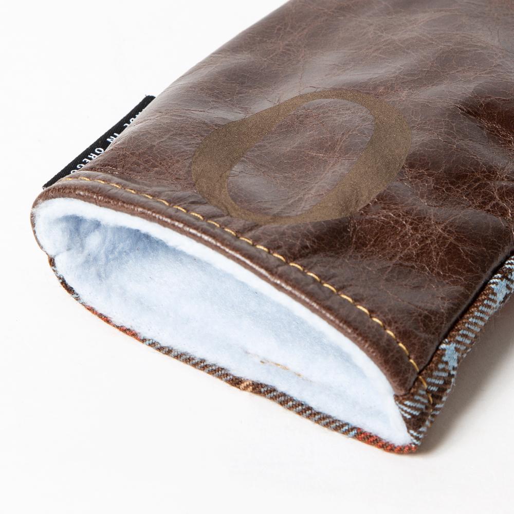 SEAMUS Hybrid Cover O County Leitrim Chocolate Leather