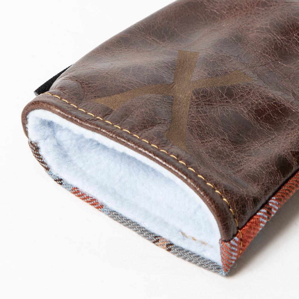 SEAMUS Hybrid Cover X County Leitrim Chocolate Leather