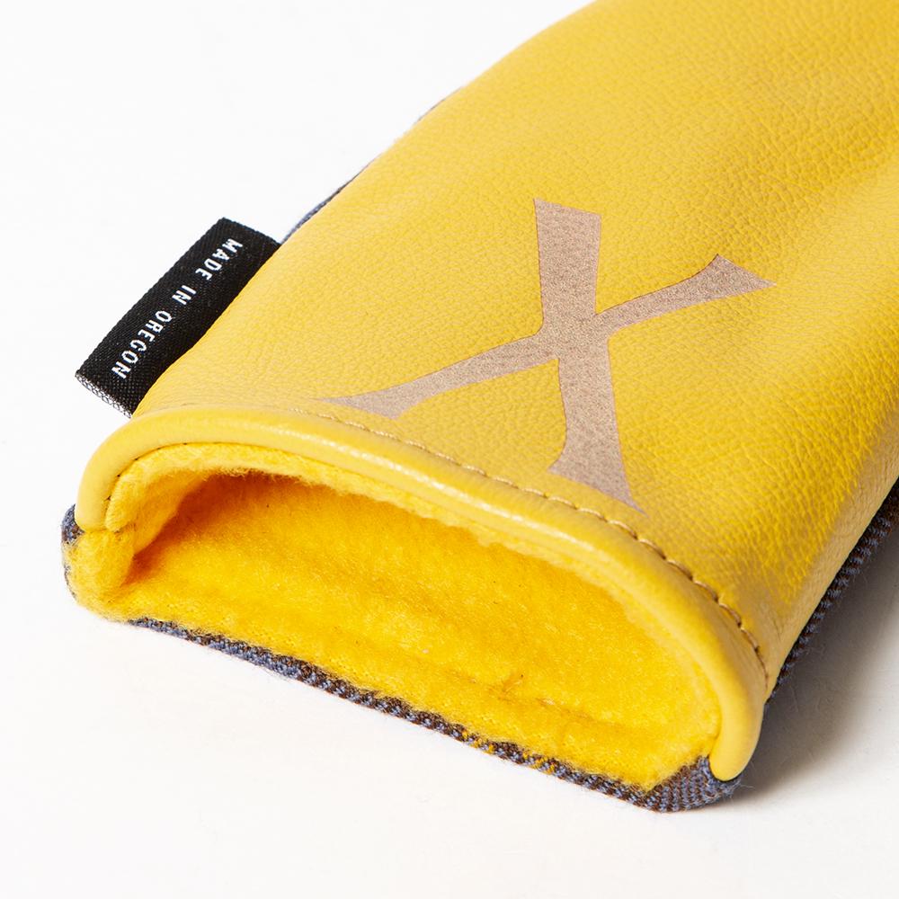 SEAMUS Hybrid Cover X County Sligo Yellow Leather