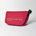 KNEE DEEP MESSENGER BAG  Red