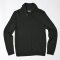 G/FORE Men's Showl Collar Sweater Onyx