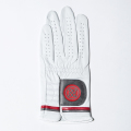 G/FORE MEN'S Glove Left Competition Stripe Scarlet