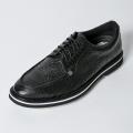 G/FORE MEN'S Golf Shoes Croc Black U Tip
