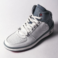 G/FORE MEN'S Golf Shoes Crusader WHITE×GREY PATENT