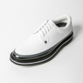 G/FORE MEN'S Golf Shoes Tuxedo WHITE & BLACK