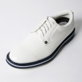 G/FORE MEN'S Golf Shoes White x Navy Sole