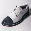 G/FORE MEN'S Golf Shoes WHITE & BLACK PATENT