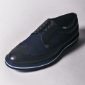 G/FORE MEN'S Golf Shoes WINGTIP BLACK & NAVY