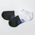 G/FORE MEN'S Socks Blocked Low Black