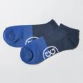 G/FORE MEN'S Socks Blocked Low Navy