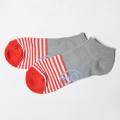 G/FORE MEN'S Socks Stripe Low Grey
