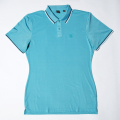 G/FORE Men's Tipped Polo Acqua Blue