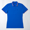 G/FORE Men's Tipped Polo Azure Blue