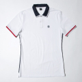 G/FORE Men's Tuxedo Polo Snow White