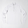 G/FORE Women's Long Sleeve Zip Up Polo Snow White