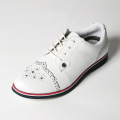 G/FORE LADIES' GOLF SHOES PRINT WINGTIP SNOW