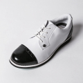 G/FORE LADIES' Golf Shoes WHITE & BLACK PATENT
